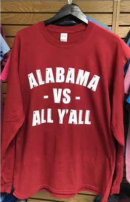 Alabama vs. All Y'all