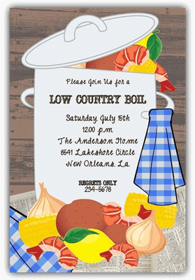 Low Country Boil A
