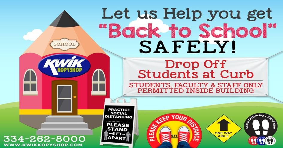 Back to School Covid Banner